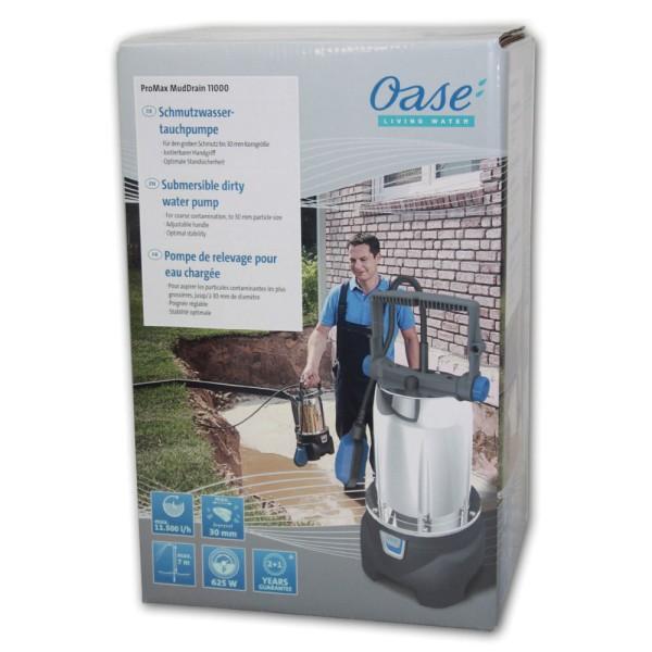 OASE ProMax MudDrain 11000 Schmutzwasser-Tauchpumpe - 4010052422671 | © by gartenteiche-fockenberg.de