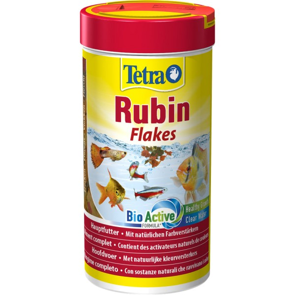 TETRA Rubin Flakes 250 ml Zierfischfutter - 4004218726475 | by gartenteiche-fockenberg.de