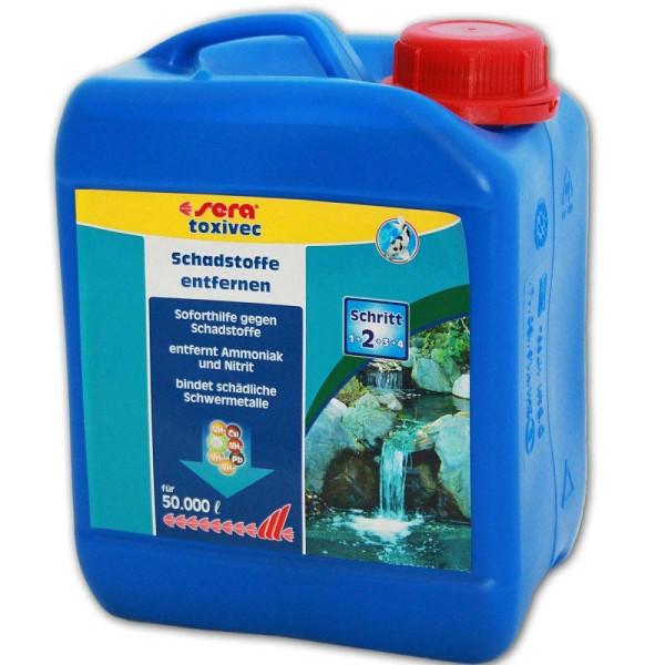 Sera Pond ToxiVec Wasseraufbereiter 2500ml - 4001942076838 | © by gartenteiche-fockenberg.de