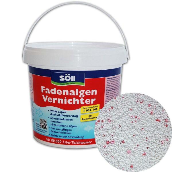 SöLL Fadenalgenvernichter 2,5kg - 4021028116050 | © by gartenteiche-fockenberg.de