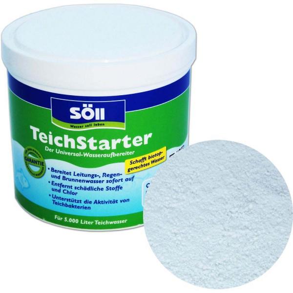 SöLL TeichStarter Wasseraufbereiter 500g - 4021028120804 | © by gartenteiche-fockenberg.de