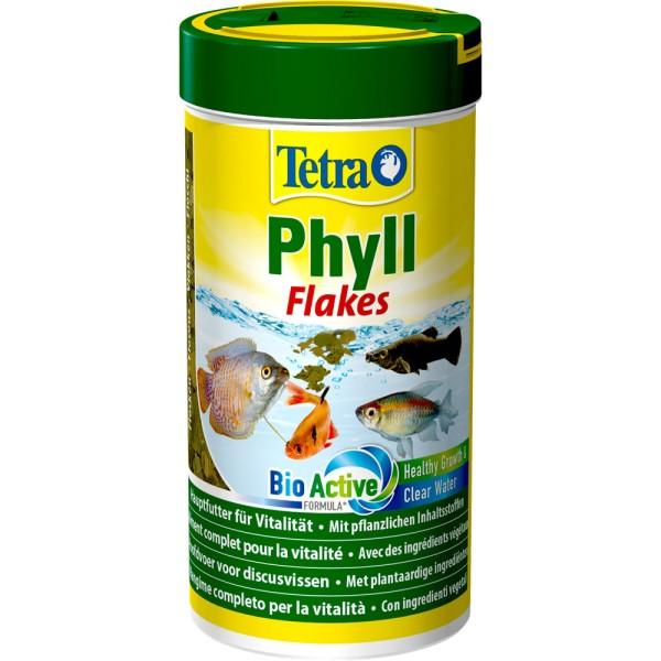 TETRA Phyll Flakes 250 ml Zierfischfutter - 4004218726581 | by gartenteiche-fockenberg.de