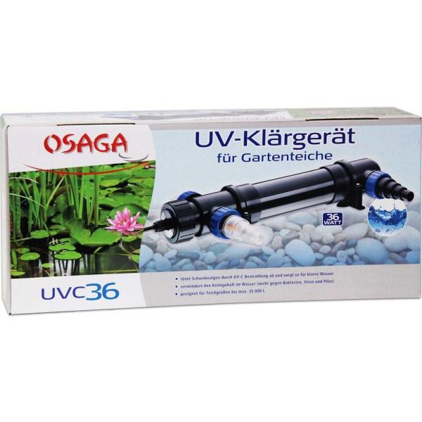 Osaga UV-Klärgerät UVC 36 - 4250247608859 | © by gartenteiche-fockenberg.de