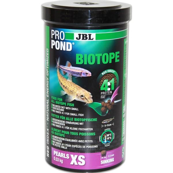 JBL ProPond Biotop Fischfutter XS 530g - 4014162413628 | © by gartenteiche-fockenberg.de