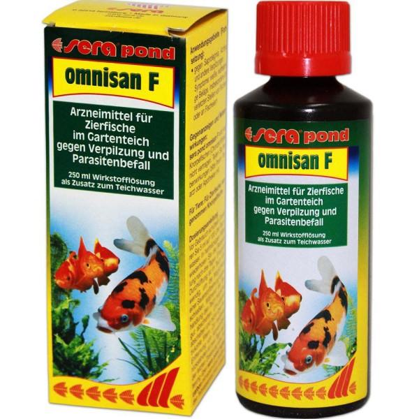Sera Pond Omnisan F Fischmedizin 250ml - 4001942075503 | © by gartenteiche-fockenberg.de
