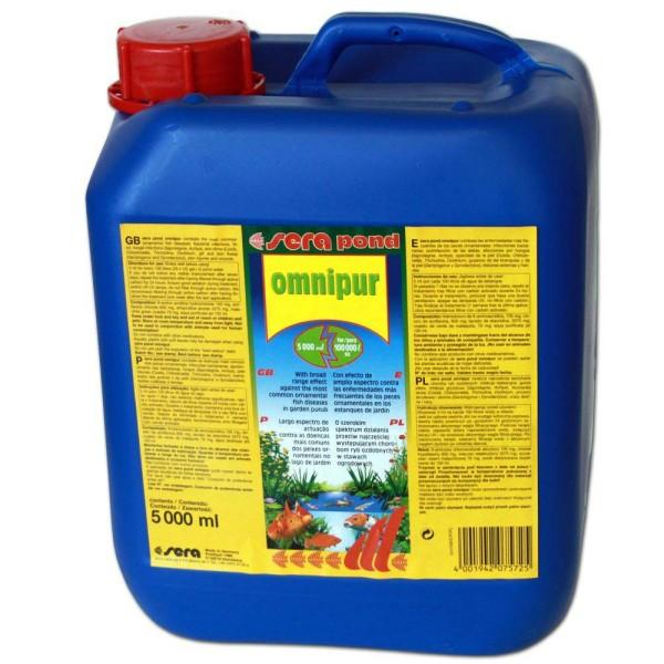 Sera Pond Omnipur S Fischmedizin 5000ml - 4001942075725 | © by gartenteiche-fockenberg.de