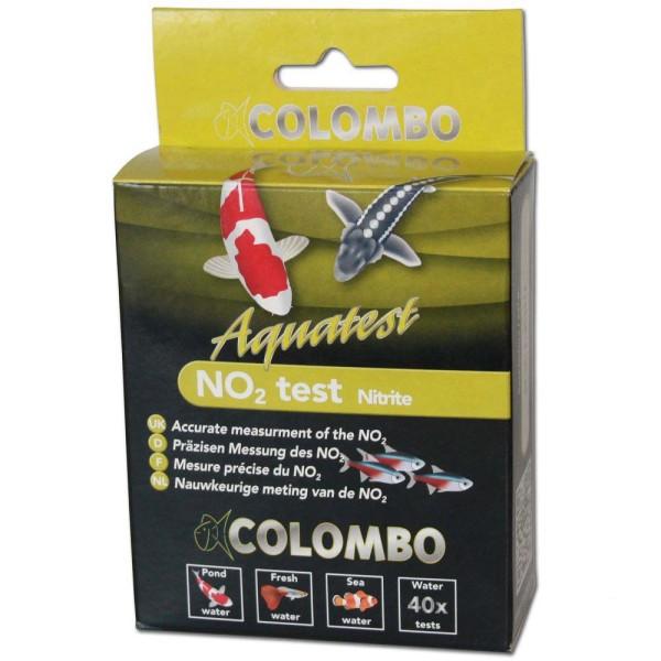 Colombo Aquatest NO2 Test Nitrite Wasseranalyse 40Stk.- 8715897030956 | © by gartenteiche-fockenberg.de