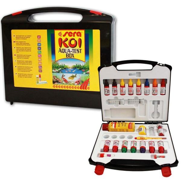 SERA Koi Aqua-Test Box Wasseranalyse - 4001942077156 | © by gartenteiche-fockenberg.de