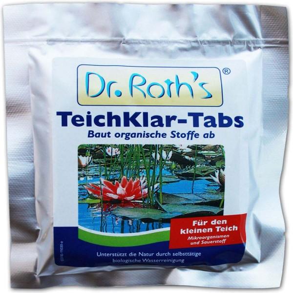 SöLL Dr. Roth's Teichklar Teichschlammentferner 4 Tabs - 4021028100844 | © by gartenteiche-fockenberg.de