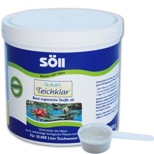 SöLL Dr. Roth's Teichklar Teichschlammentferner 500g - 4021028100714 | © by gartenteiche-fockenberg.de