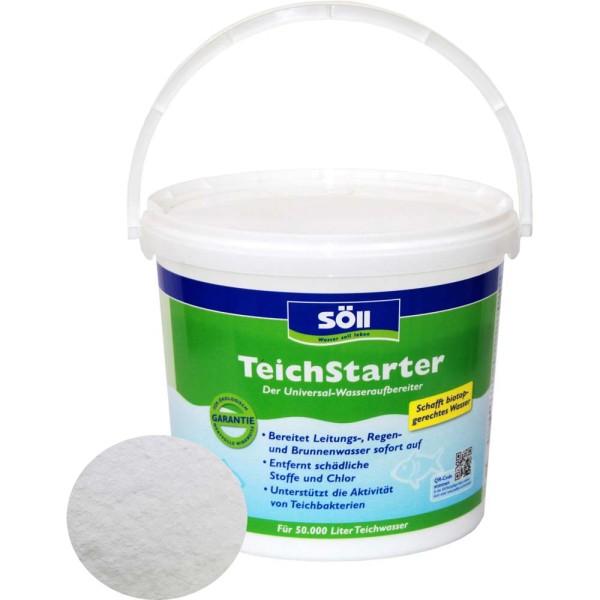 SöLL TeichStarter Wasseraufbereiter 5kg - 4021028109168 | © by gartenteiche-fockenberg.de
