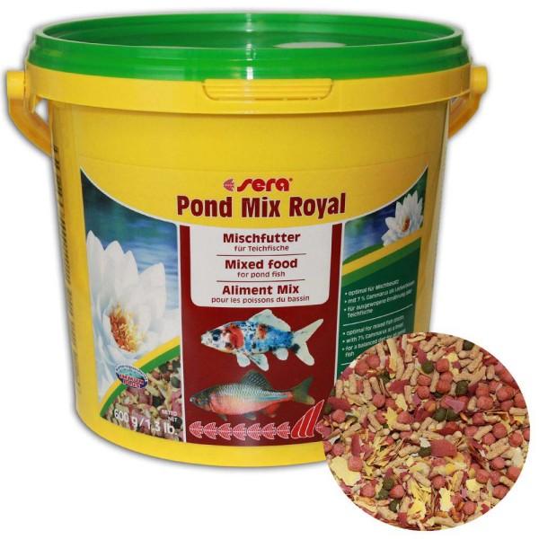 Sera Pond Mix Royal Fischfutter 600g - 4001942071024 | © by gartenteiche-fockenberg.de