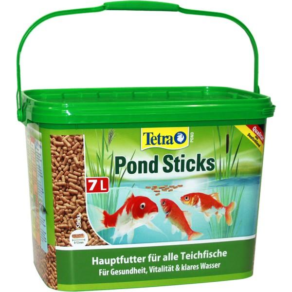 Tetra Pond Sticks Fischfutter 7L - 4004218187603 | © by gartenteiche-fockenberg.de