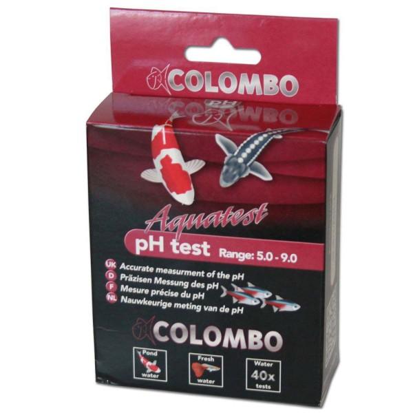 COLOMBO Aquatest pH Test Säuregehalt 5.0-9.0 Wasseranalyse 40 Stk. - 8715897030949 | © by gartenteiche-fockenberg.de