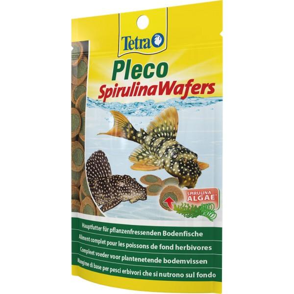 TETRA Pleco Spirulina Wafers 250 ml Zierfischfutter - 4004218189652 | by gartenteiche-fockenberg.de