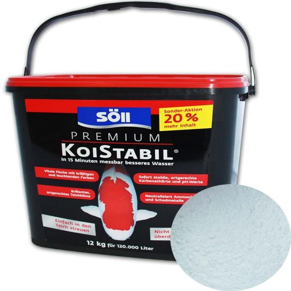 Söll Koistabil Premium Wasseraufbereiter 12kg - 4021028175002 | © by gartenteiche-fockenberg.de
