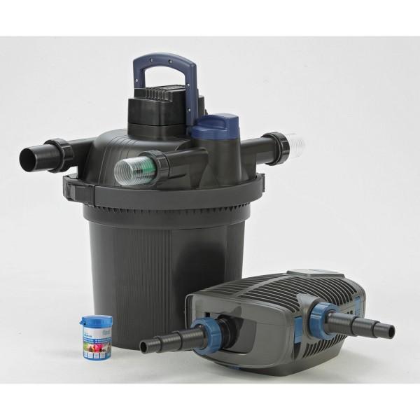 OASE FiltoClear Set 12000 Teichfilter + Pumpe - 4010052512501 | by gartenteiche-fockenberg.de