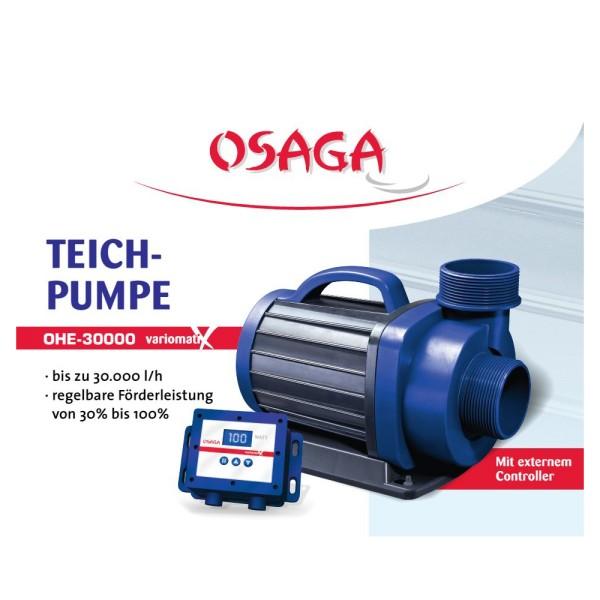 OSAGA OHE-30000 VX Variomatix Teichfilter- und Umwälzpumpe