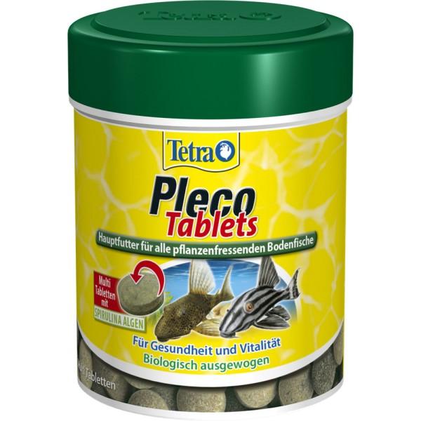 TETRA Pleco Tablets 120 Tabl. Zierfischfutter - 4004218752719 | by gartenteiche-fockenberg.de
