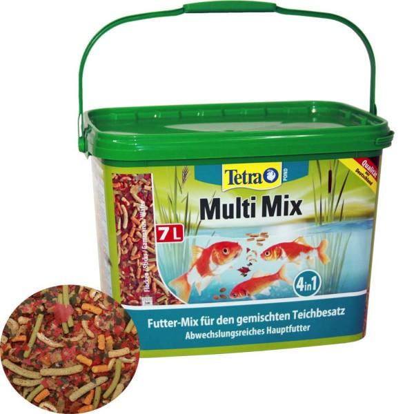Tetra Pond Multi Mix Fischfutter 7L - 4004218277281 | © by gartenteiche-fockenberg.de