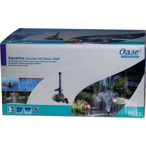 OASE Aquarius Fountain Set 3500 Springbrunnenpumpe - 4010052574028 | © by gartenteiche-fockenberg.de