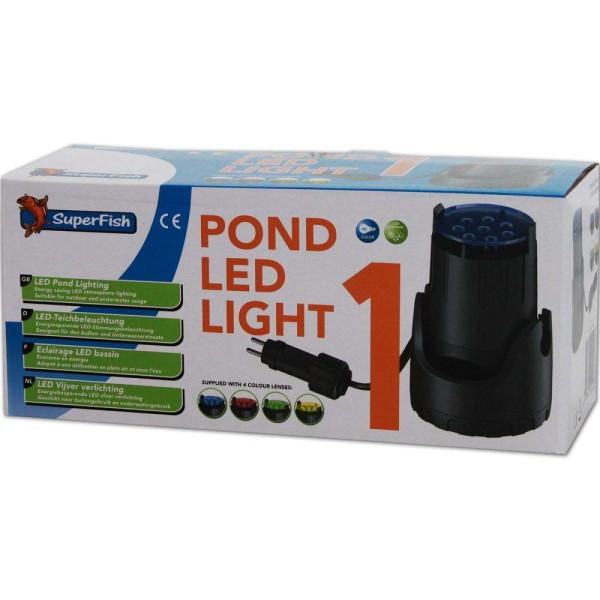 Superfish Pond LED Light 1 Teichbeleuchtung - 8715897244483 | © by gartenteiche-fockenberg.de