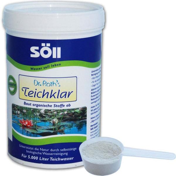 SöLL Dr. Roth's Teichklar Teichschlammentferner 250g - 4021028100707 | © by gartenteiche-fockenberg.de