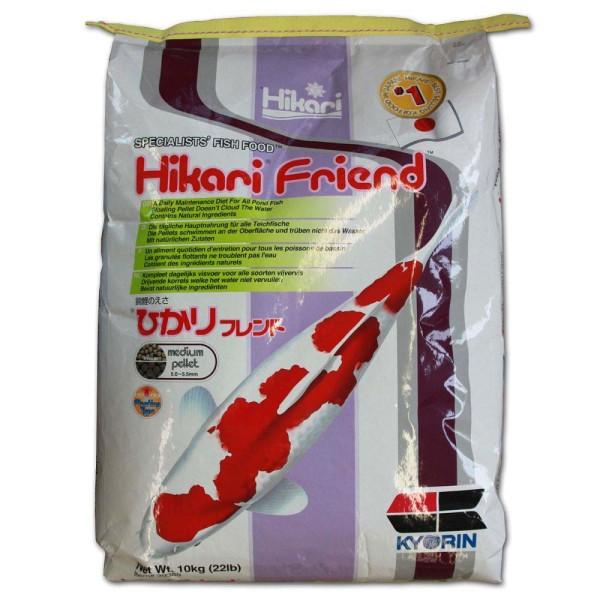 Hikari Friend Medium Koifutter Ø 5mm 10kg - 4971618393890 | © by gartenteiche-fockenberg.de