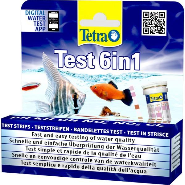 TETRA Test 6in1 Wasseranalyse 25 Stk. - 4004218175488 | by gartenteiche-fockenberg.de