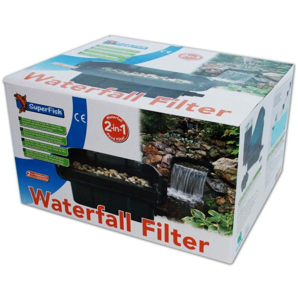 Superfish Waterfall Filter Set 2in1 - 8715897246562 | © by gartenteiche-fockenberg.de
