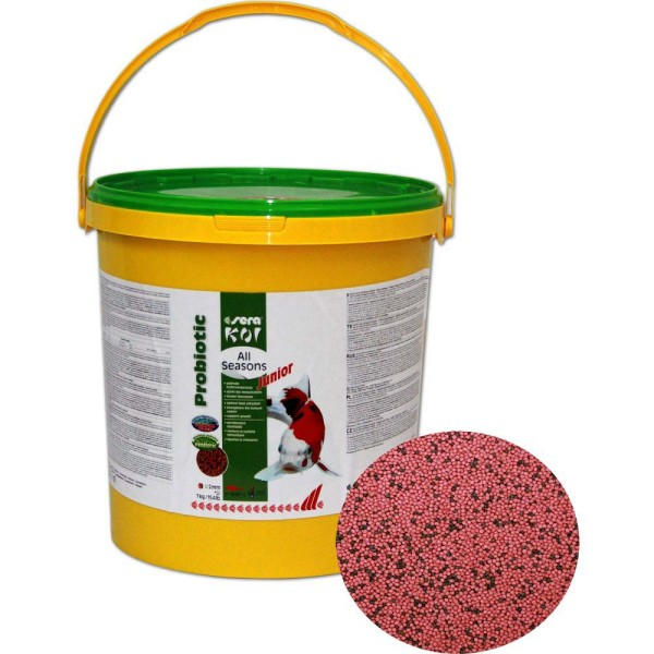 Sera Koi All Seasons Probiotic Junior Koifutter 7kg - 4001942444552 | © by gartenteiche-fockenberg.de