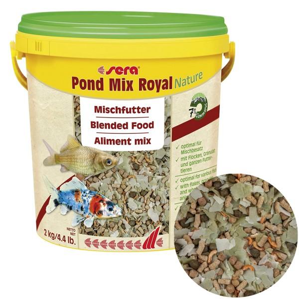 Sera Pond Mix Royal Fischfutter Nature 2kg - 4001942071079   by gartenteiche-fockenberg.de