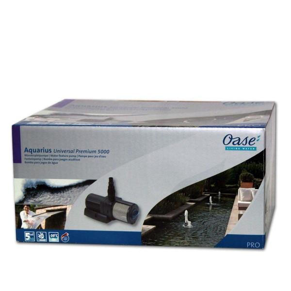 OASE Aquarius Universal Premium 5000 Wasserspielpumpe - 4010052566177 | © by gartenteiche-fockenberg.de