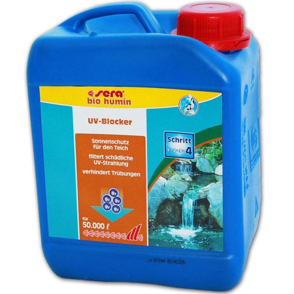 SERA Pond Bio Humin UV-Blocker 2500ml - 4001942072335 | © by gartenteiche-fockenberg.de