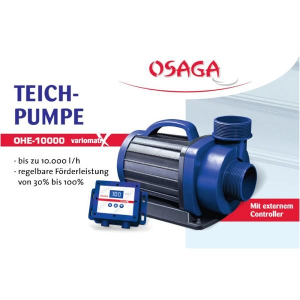 OSAGA OHE-10000 VX Variomatix Teichfilter- und Umwälzpumpe