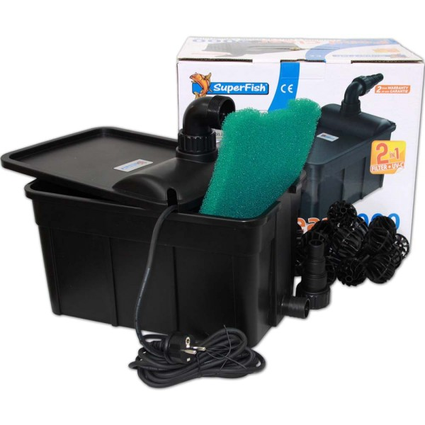 Superfish Pond Clear 3000 Teichfilter 2in1 - 8715897275562 | © by gartenteiche-fockenberg.de