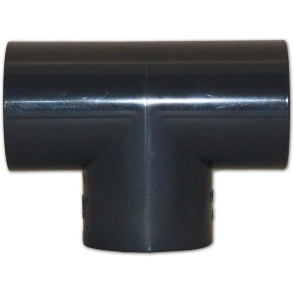PVC T-Stück 90°, Ø 40mm | © by gartenteiche-fockenberg.de