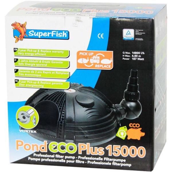 Superfish Pond ECO Plus 15000 Teichpumpe - 8715897044076 | © by gartenteiche-fockenberg.de