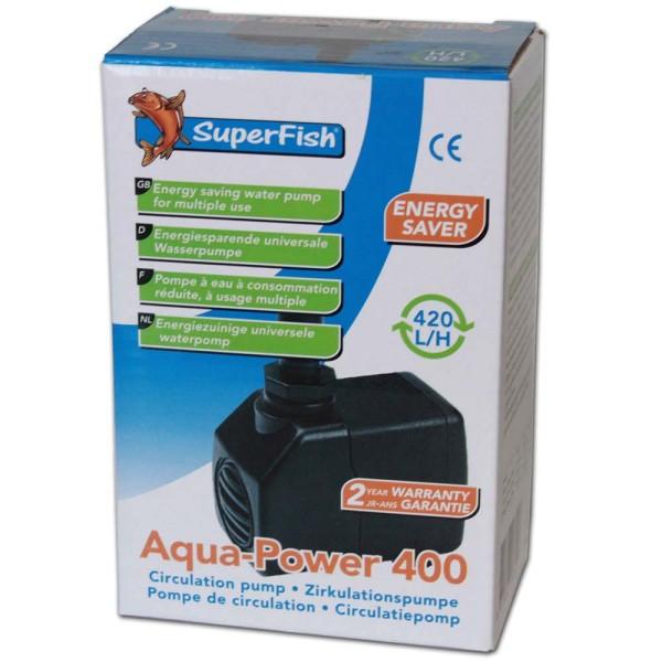 Superfish Aqua Power 400 Zimmerbrunnenpumpe - 8715897187407 | © by gartenteiche-fockenberg.de