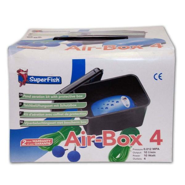 Superfish Air-Box 4 Teichbelüfter - 8715897025457 | © by gartenteiche-fockenberg.de