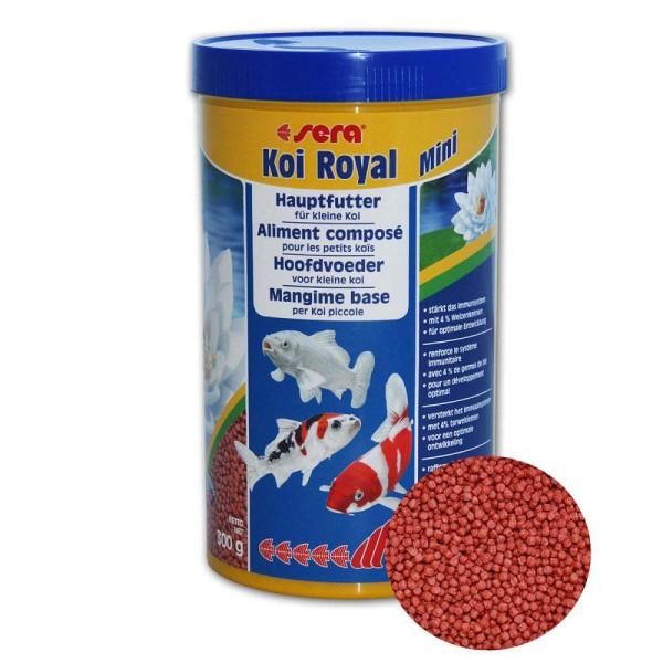 Sera Koi Royal mini Koifutter 300g - 4001942071109 | © by gartenteiche-fockenberg.de