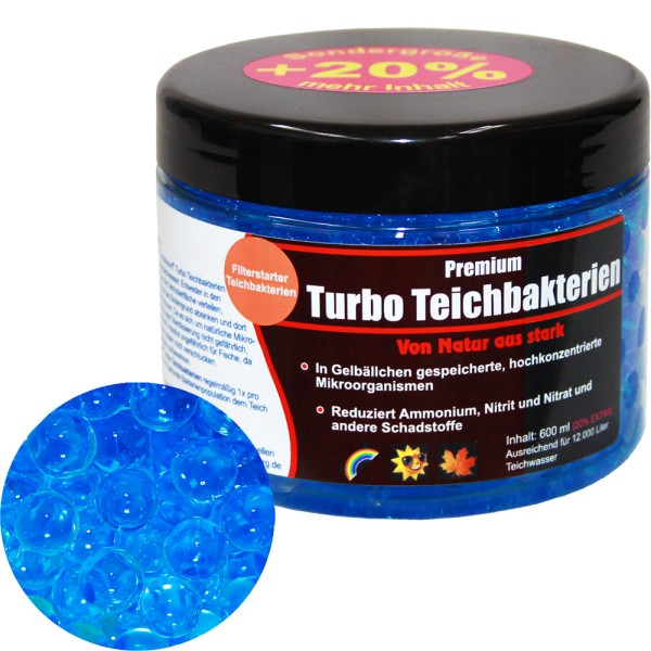 Teichfreund® Turbo Teichbakterien 500ml - 12200 | © by gartenteiche-fockenberg.de