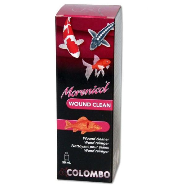 COLOMBO Morenicol Wound Clean Fischmedizin 50ml - 8715897081736 | © by gartenteiche-fockenberg.de