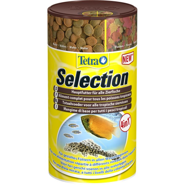 TETRA Selection Fischfutter 100ml - 4004218247550 | © by gartenteiche-fockenberg.de