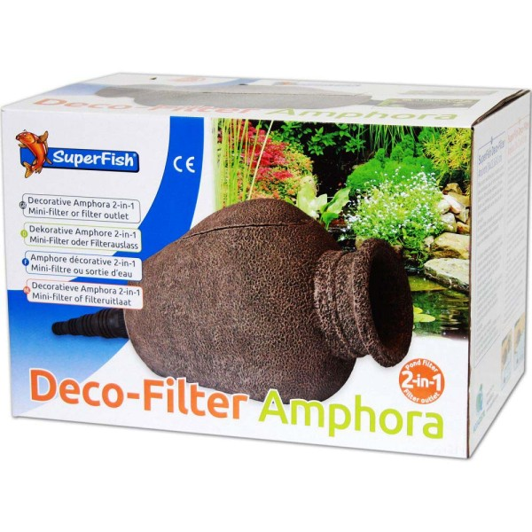 Superfish Amphore 2in1 Deco-Filter - 8715897271311 | © by gartenteiche-fockenberg.de