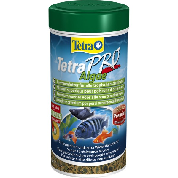 TETRA Pro Algae 100 ml Zierfischfutter - 4004218138834 | by gartenteiche-fockenberg.de