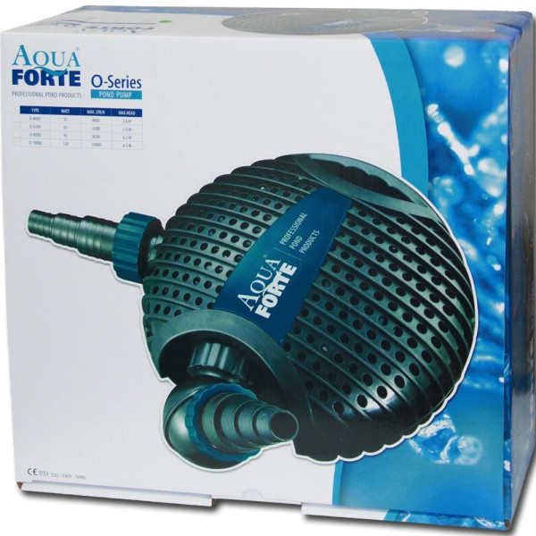 AquaForte O-Serie 10000 Teichpumpe - 8717605077383 | © by gartenteiche-fockenberg.de