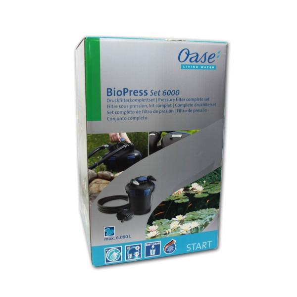OASE BioPress Set 6000 Teichfilter+Pumpe+UVC