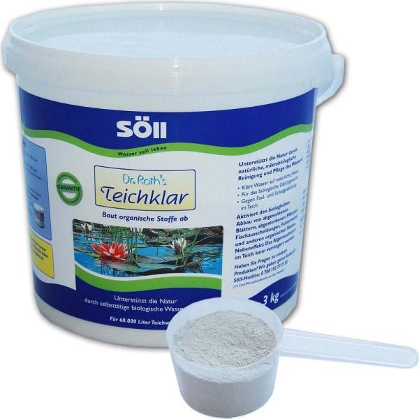 SöLL Dr. Roth's Teichklar Teichschlammentferner 3kg - 4021028100752 | © by gartenteiche-fockenberg.de