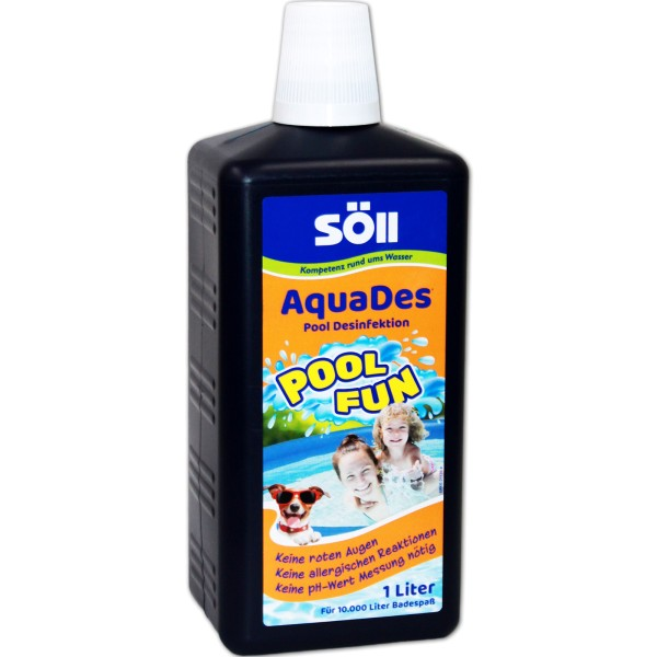 SöLL AquaDes Desinfektion 1000 ml - 4021028314302 | © by gartenteiche-fockenberg.de